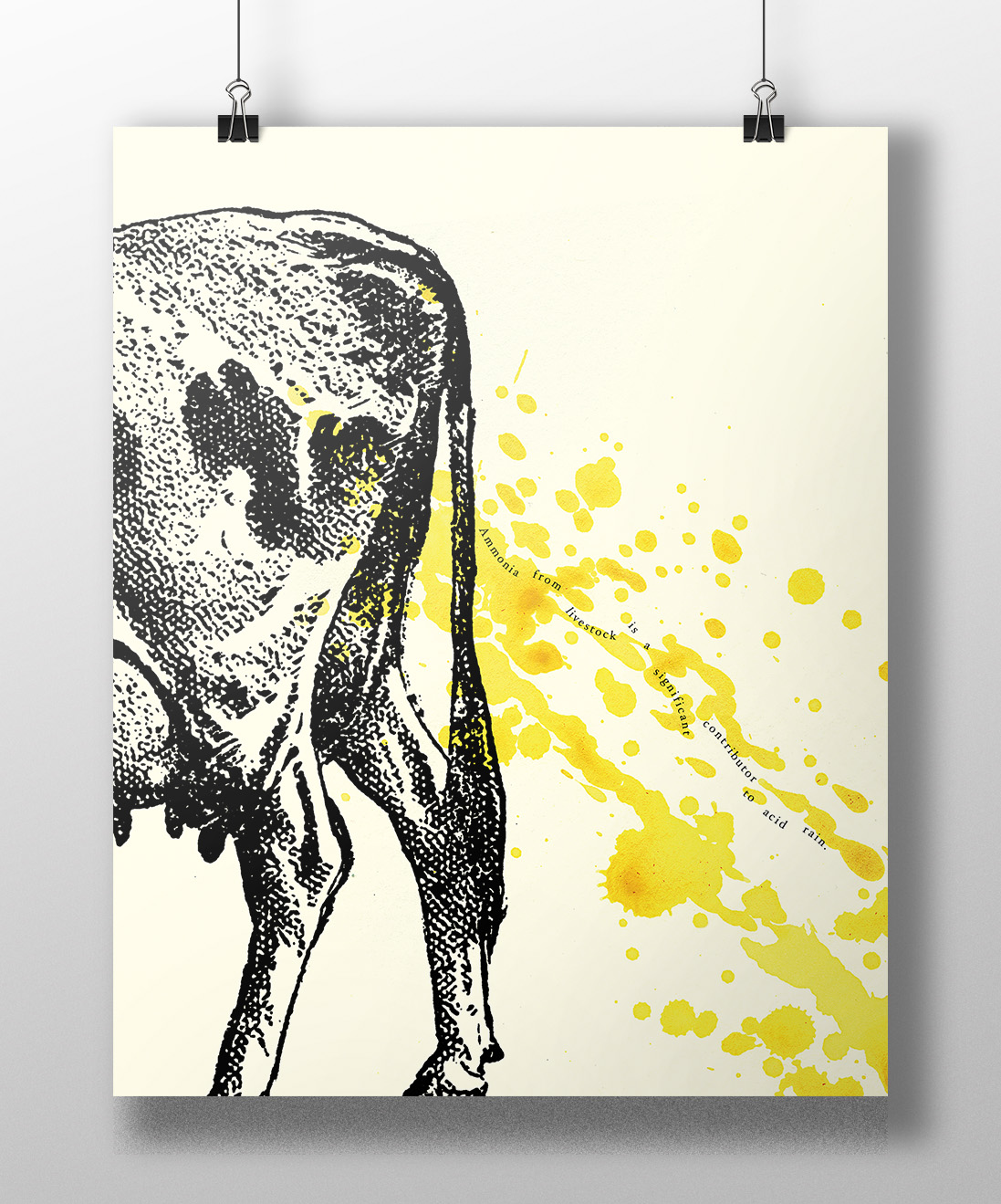 Sustainability Poster—Peeing Cow